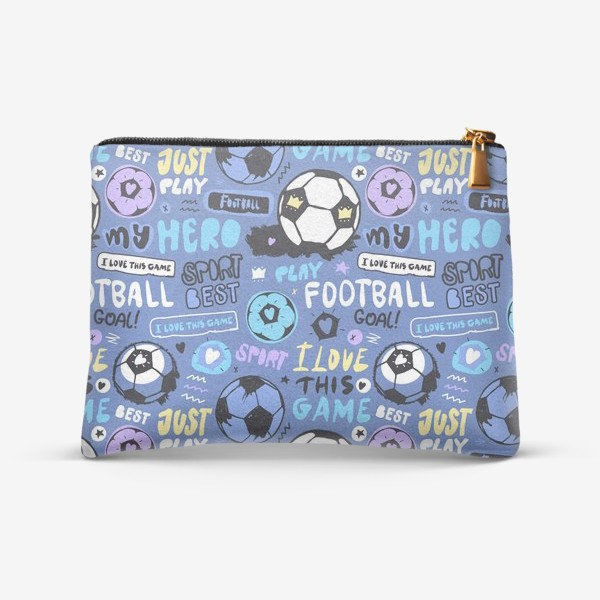 Косметичка «Люблю футбол»
