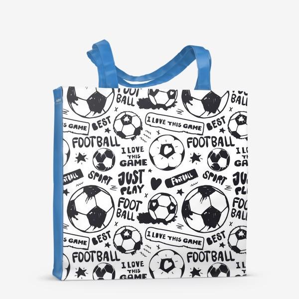 Сумка-шоппер «Просто играй в футбол!»