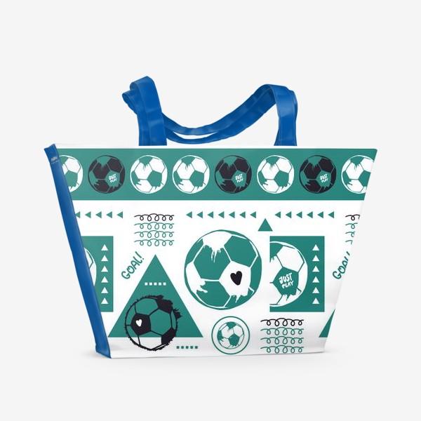 Пляжная сумка «Футбол. Гол.»