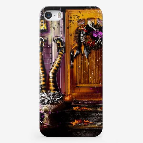 Чехол iPhone «Хеллоуин. День всех Святых. Осенние праздники. Пятница 13ое. »