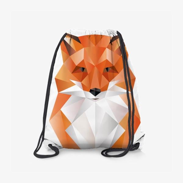 Рюкзак «Лиса полигональная»