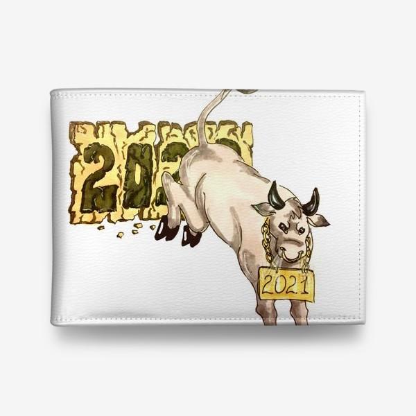 Кошелек «Суровый бык»