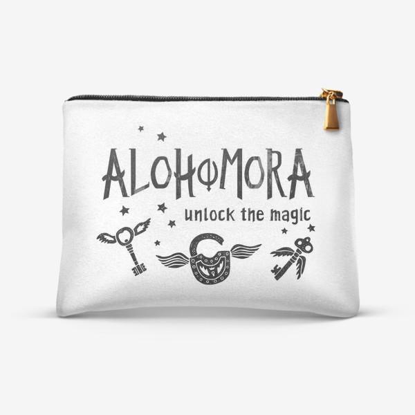 Косметичка «Alohomora/ Алохомора. Заклинание. Harry Potter/ Гарри Поттер.»