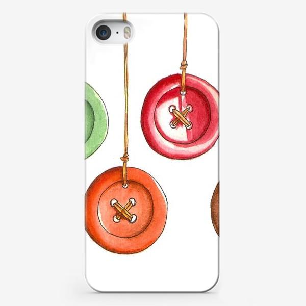 Чехол iPhone «Пуговки»