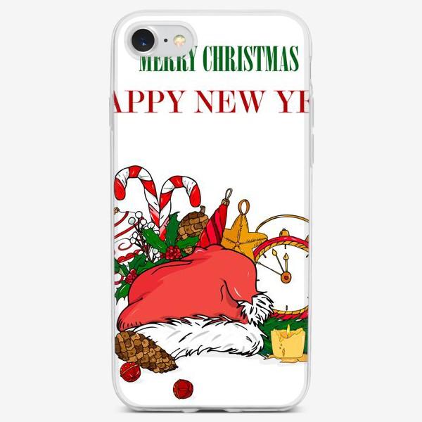 Чехол iPhone «новый год»