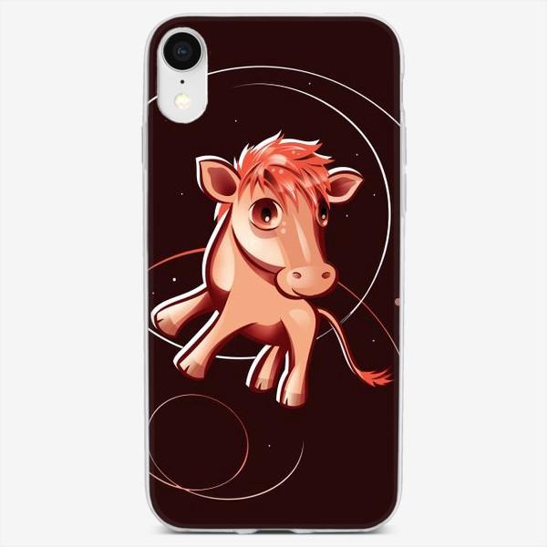Чехол iPhone «АНИМЕ ТЕЛЕНОК»