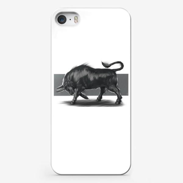 Чехол iPhone «Бык »