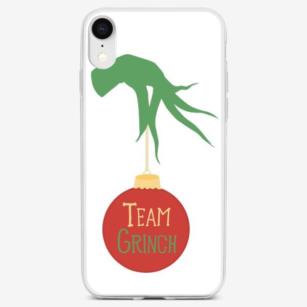 Чехол iPhone «Команда Гринча / Рождество»