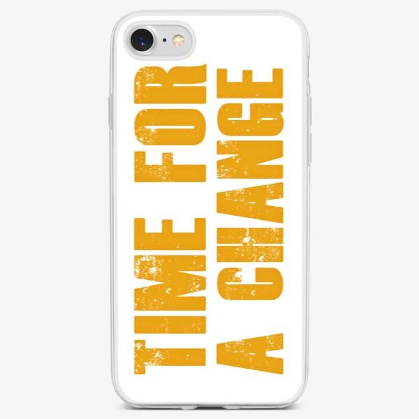 Чехол iPhone «Время перемен / Time for a change»