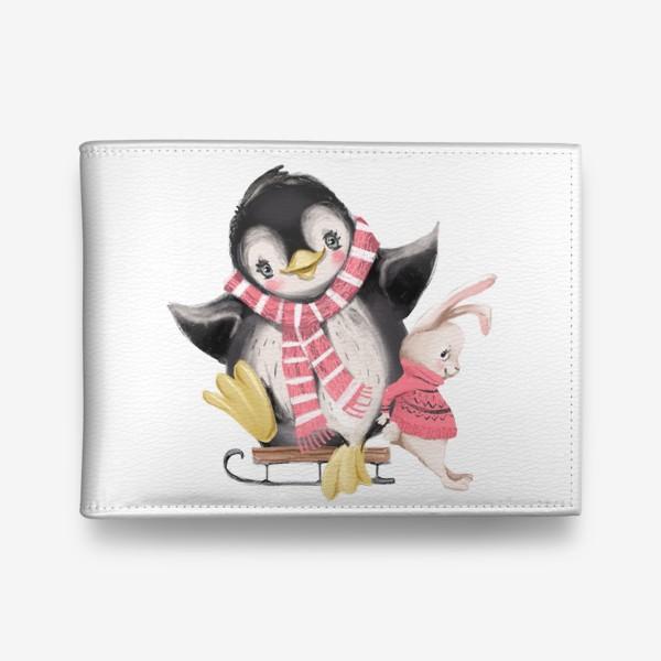 Кошелек «Новый год и Рождество, Пингвин»