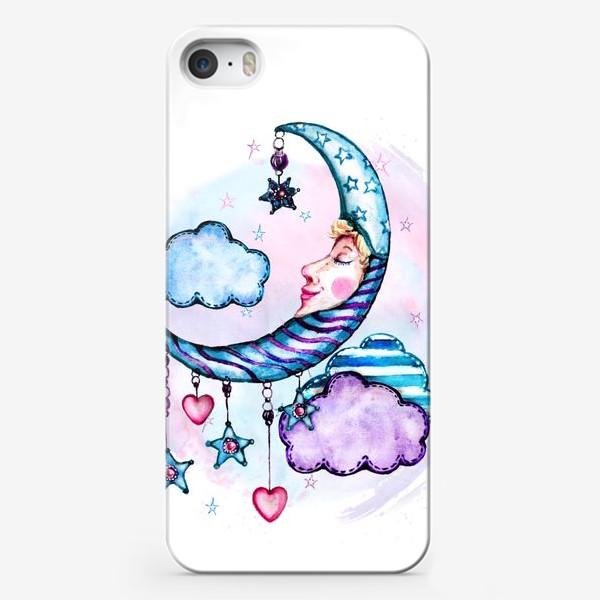 Чехол iPhone «Спящий месяц»