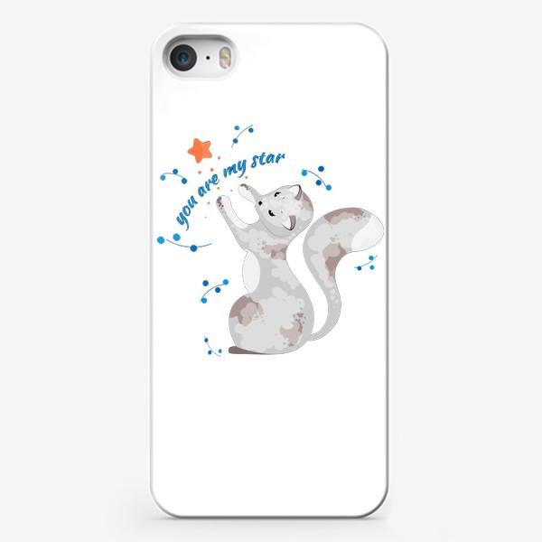 Чехол iPhone « Ты моя звездочка.»