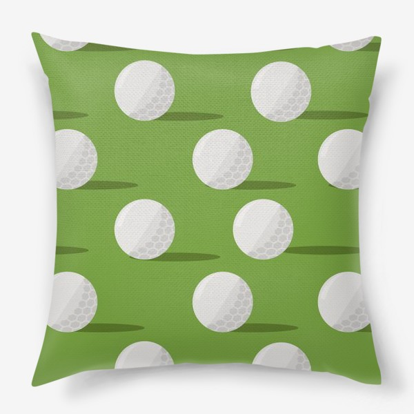 Подушка «Мячики для гольфа»