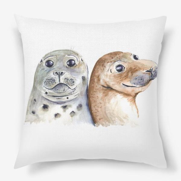 Подушка «Тюлени»