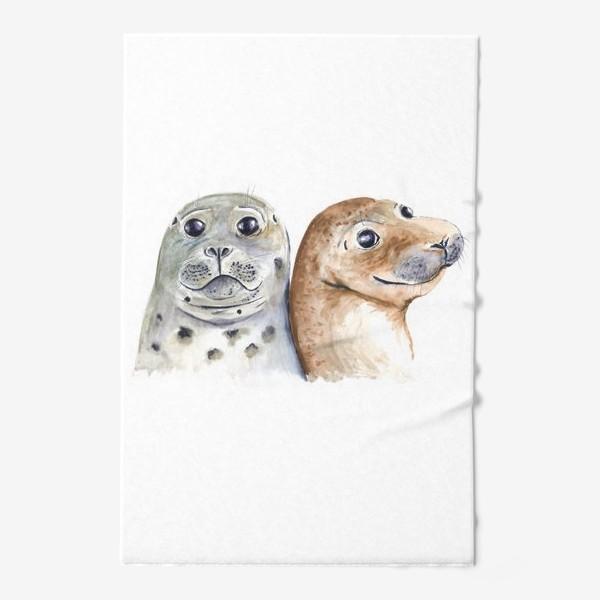Полотенце «Тюлени»