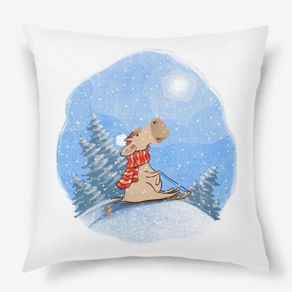 Подушка «С Новым годом Быка!»