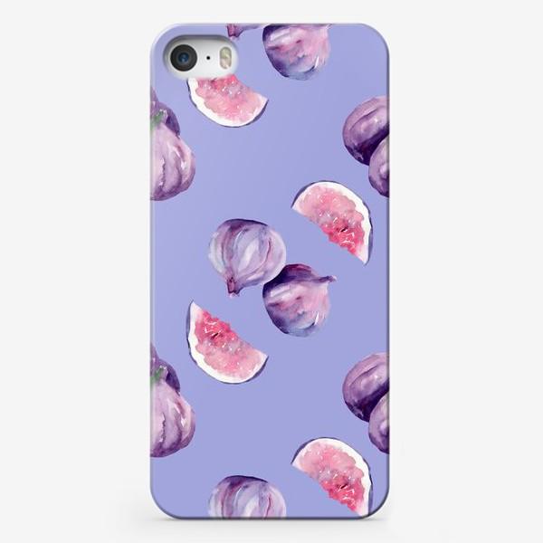 Чехол iPhone «Нежный инжир»