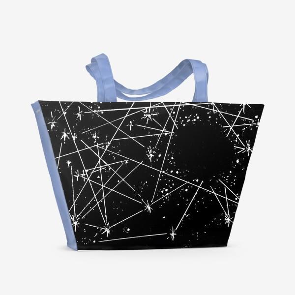 Пляжная сумка «Чёрная дыра»