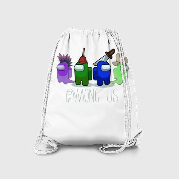 Рюкзак «AMONG US - Победа!»