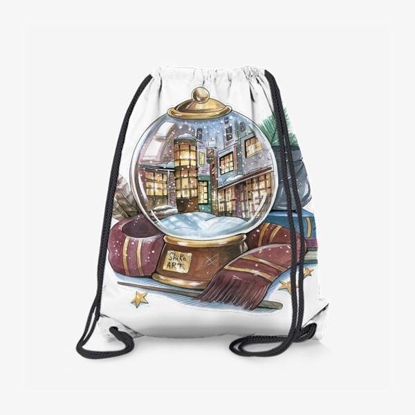 "Рюкзак «Снежный шар ""Косой переулок"" (Гарри Поттер) »"