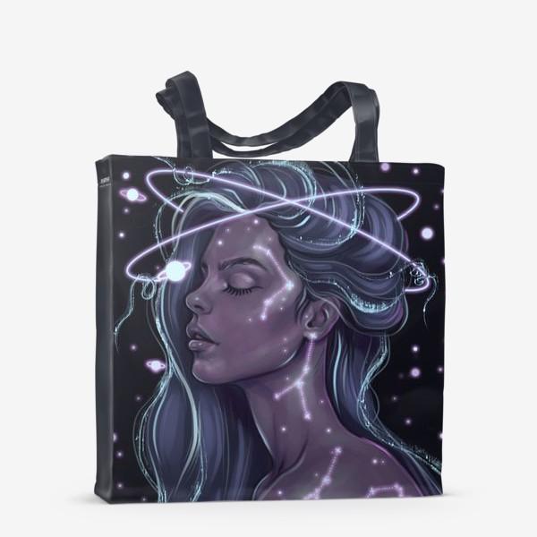 Сумка-шоппер «Космическая девушка»