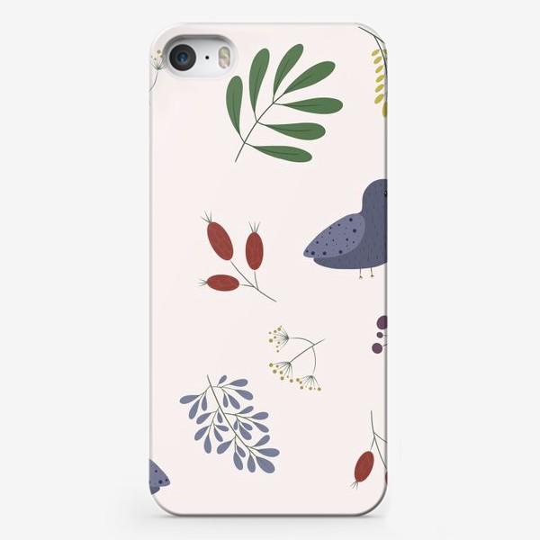Чехол iPhone «лесные птички»