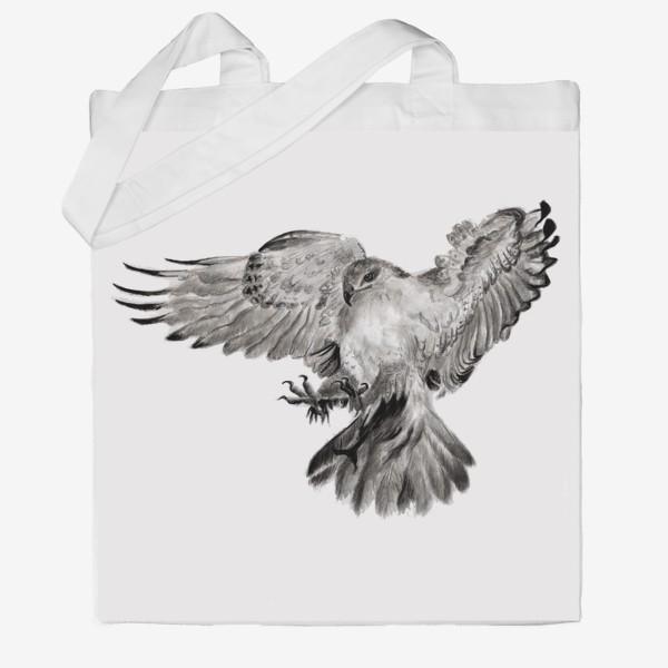 Сумка хб «Орел расправил крылья и летит в прыжке»