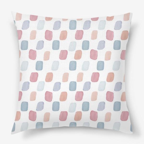 Подушка «Цветной лёд»