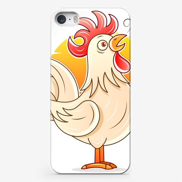 Чехол iPhone «rooster »