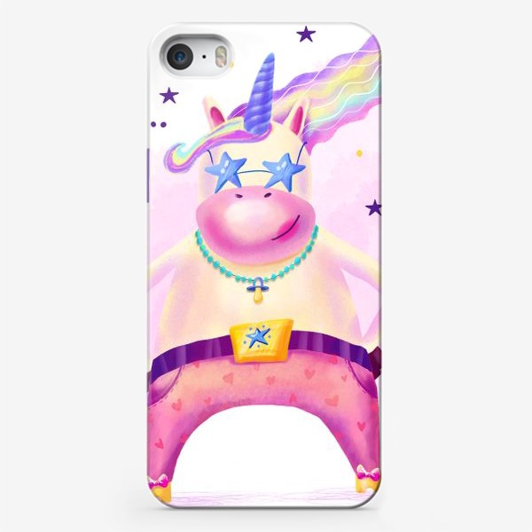 Чехол iPhone «Единорог No... сюси-пуси»