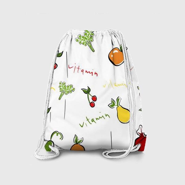 Рюкзак «Паттерн.Фрукты»