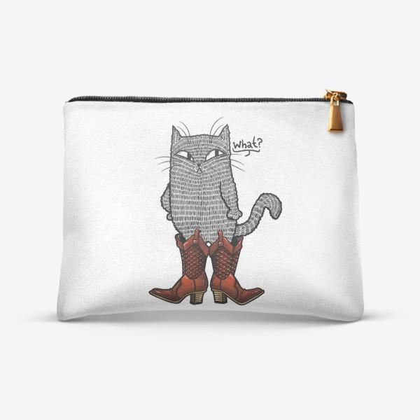 Косметичка «Кот в сапогах»