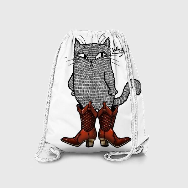 Рюкзак «Кот в сапогах»