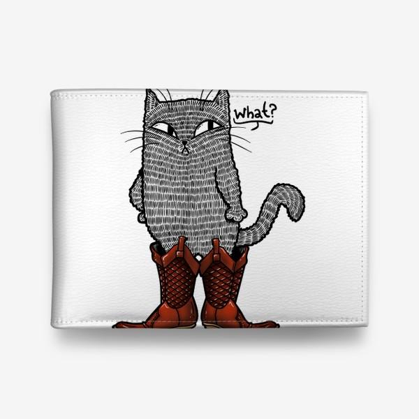 Кошелек «Кот в сапогах»