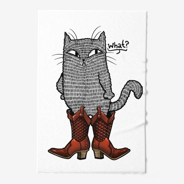Полотенце «Кот в сапогах»