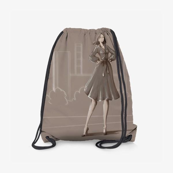 Рюкзак «Девушка в городе»