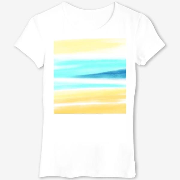 Футболка «Песок и море»
