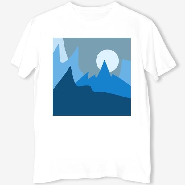 Футболка «Синие горы»