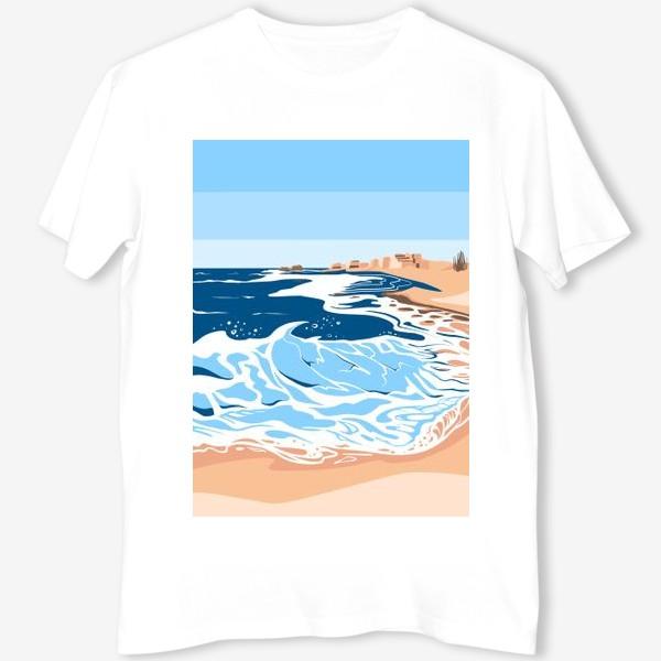 Футболка «Море, небо и песок»