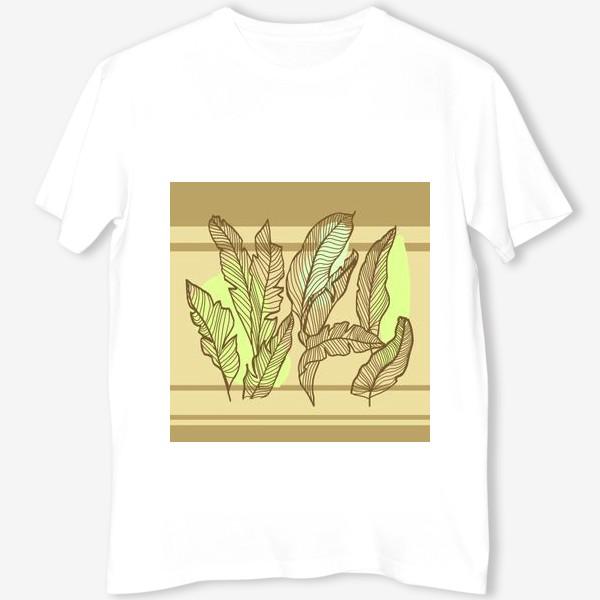 Футболка «Банановые листья»