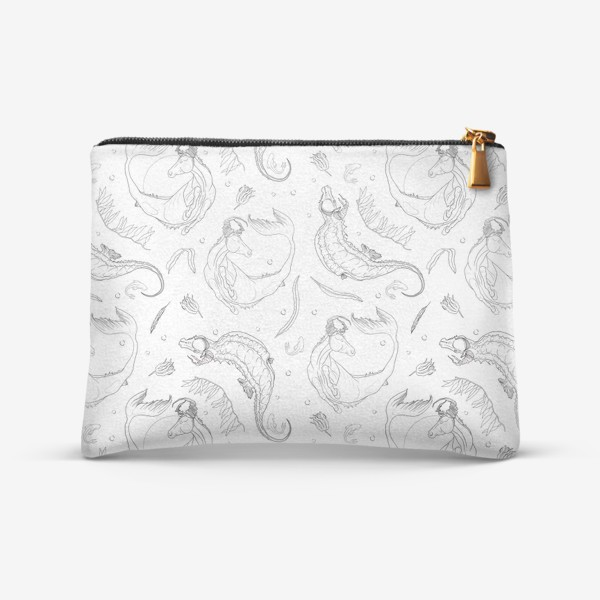 Косметичка «Seafishes pattern »
