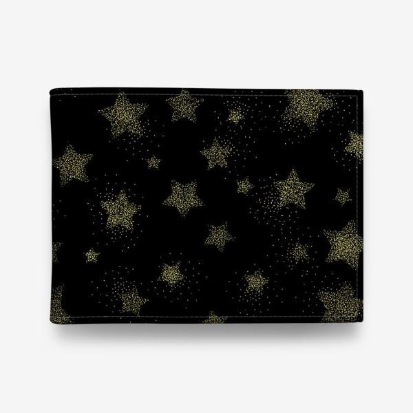 Кошелек «Звёзды на черном фоне»