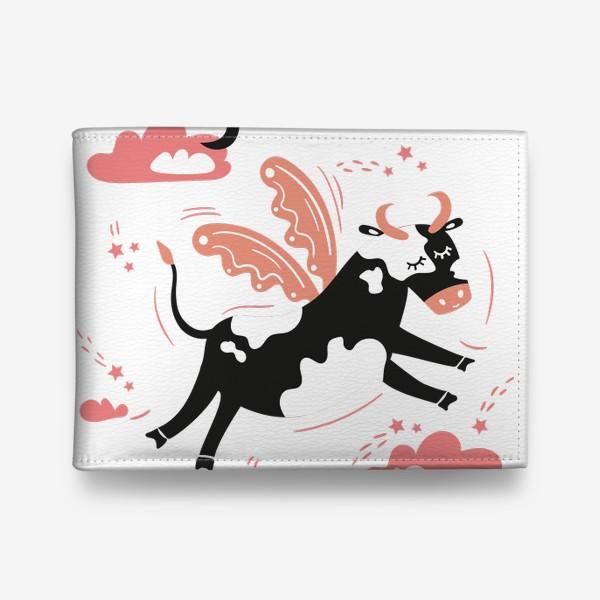 Кошелек «Летающая милая корова»