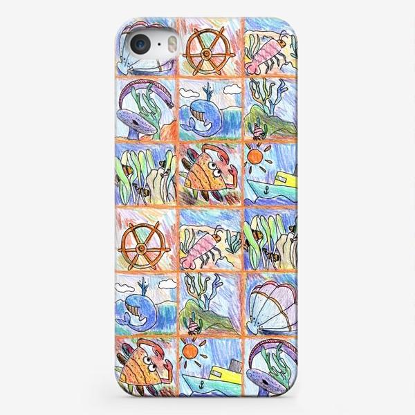 Чехол iPhone «Морские жители»