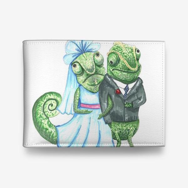 Кошелек «Свадьба хамелеонов»