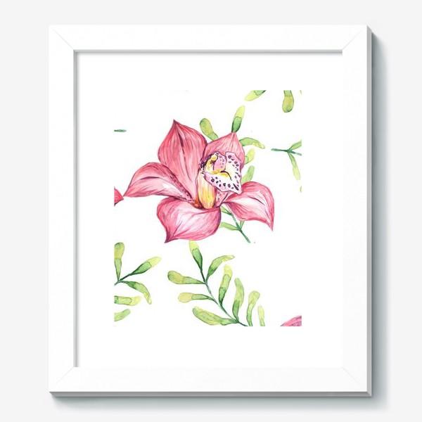 Картина «Орхидея Цветок Паттерн»