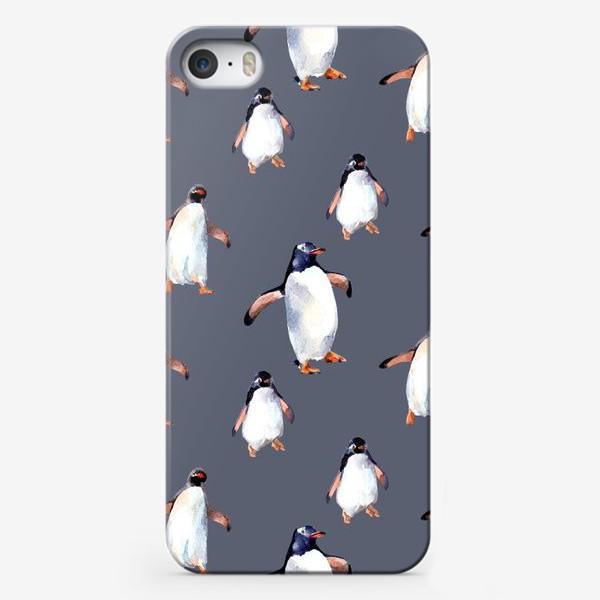Чехол iPhone «Пингвины»