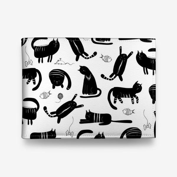 Кошелек «милые котики»