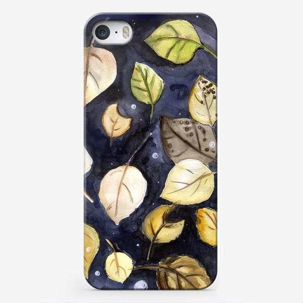 Чехол iPhone «Листья на воде»