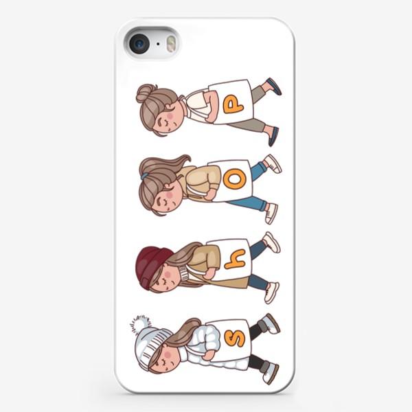 Чехол iPhone «шоппинг принт для сумки»